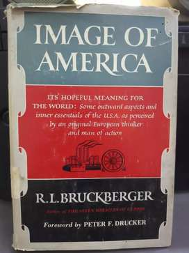 """Image of America"" Foreword by Peter F.Drucker"