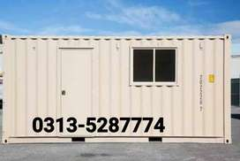 Porta cabin office container prefab house guard room toilet washroom