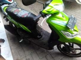 mio sporty thn 2011 hijau