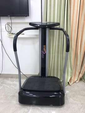 Body vibrating/massaging machine