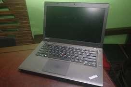 Lenovo T440 4th gen .Dual battery+240gb SSD RS 18500 TAX PAID