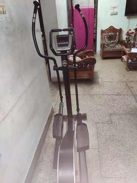 Horizontal fitness equipment -walker