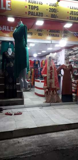 Shop for sale in bistupur matket area