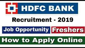 Bank process hiring for Back Office/Data Entry/ CCE in Delhi