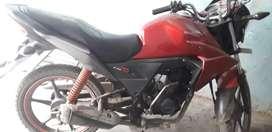 Gud in condition honda twister 2010 model 30000km driven