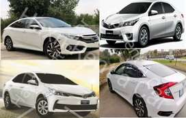 Toyota Corolla Honda | Car Rental | Rent a car Islamabad & Rawalpindi