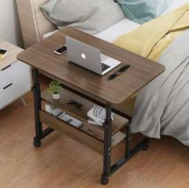 Portable Height Adjustable laptop table Overbed Bedside Table