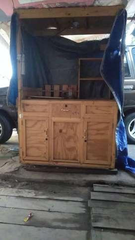 Rombong kayu secon