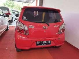 Daihatsu Ayla tipe X 2016 uang muka 12 juta