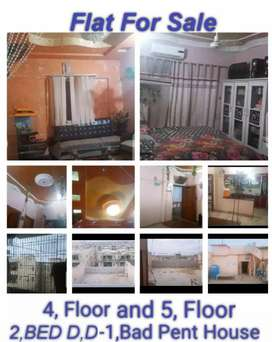 Flat for sale 4 Floor 2 Bed D D & 5 Floor 1 Bed Paint House