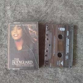 Kaset album Whitney Houston soundtrack bodyguard