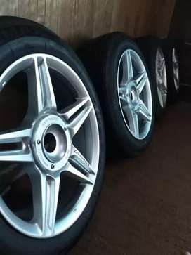 Tyres with Rims for sale