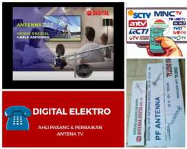 Pusat Pasang Baru Antena TV LED/LCD Antena TV Outdoor