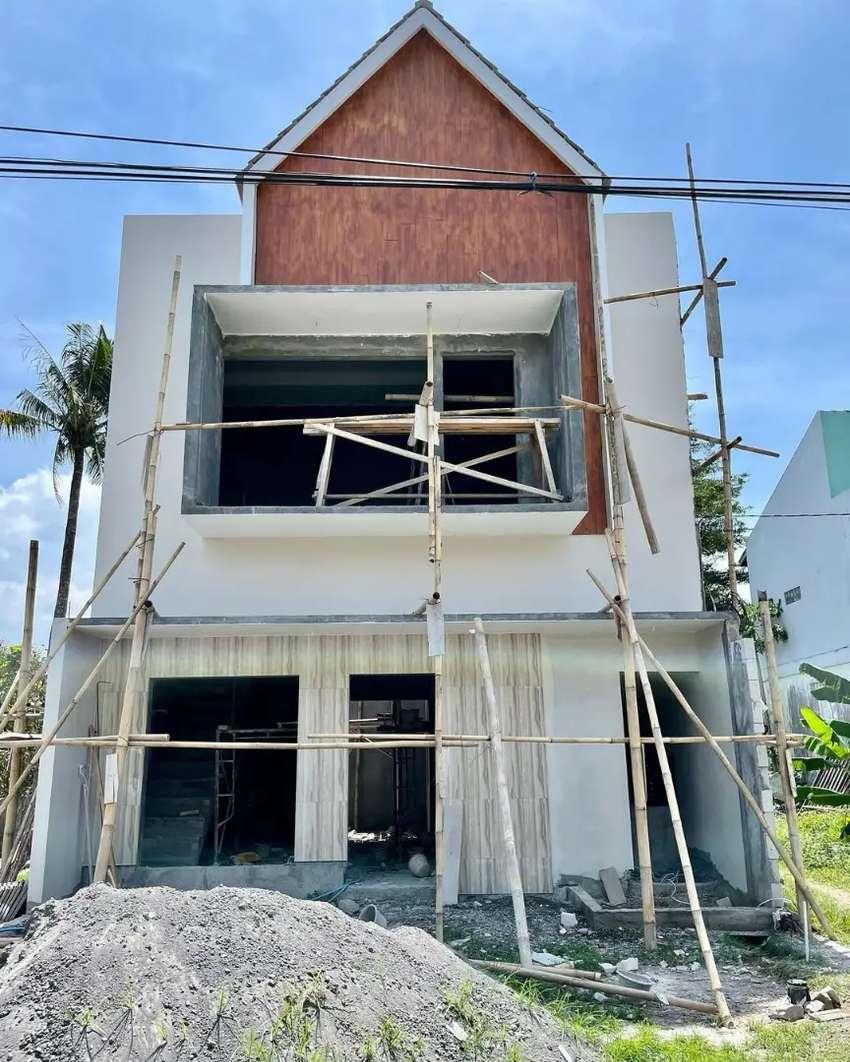 Jasa bangun rumah tropis minimalis modern Candipuro