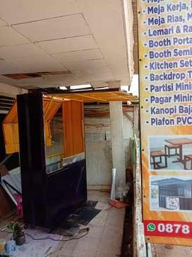PALING LARIS! gerobak dagang, booth, booth semi kontainer