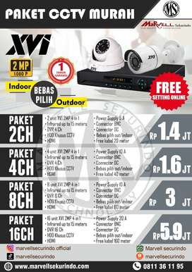 2 channel cctv merk XVI 2 mp