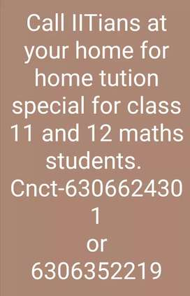 Home tution by iit bhu student