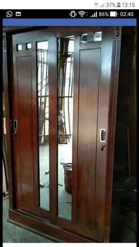 Lemari 2 pintu sleeding minimalis