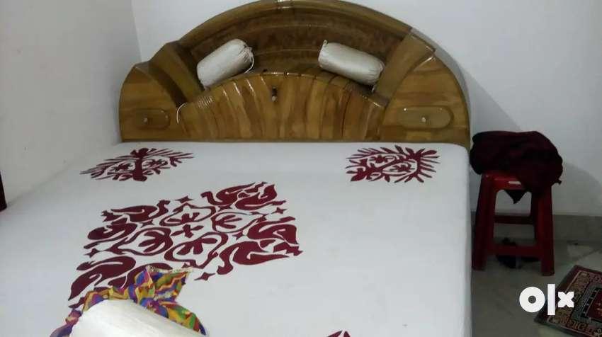 Sagwan bed & Sofa Set 0