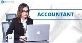 Hiring For Book Keeper/ Finance/ Taxation
