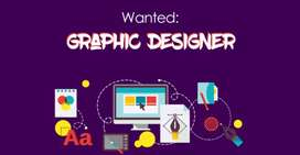 Graphic designer for advertising company