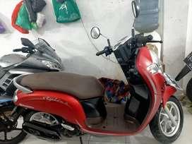 Scoopy th 2020 samping komplek Andika Sultan Adam hairi motor