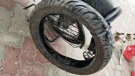 Royal Enfield back Tyre