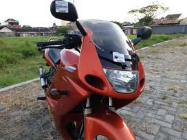 Kawasaki ninja rr old orange