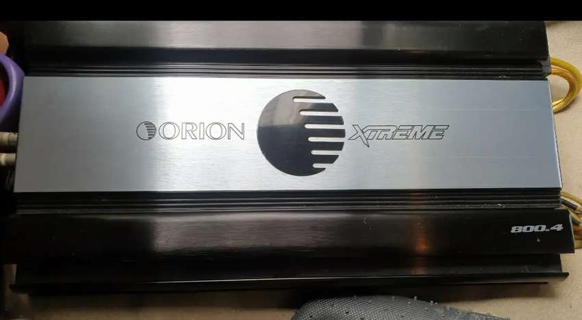 Power Amplifier 4chn Orion Xtreme 800.4