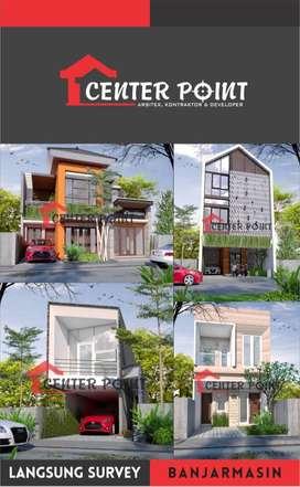 Desain Arsitek Gambar RAB IMB Kontraktor Rumah di Kota Banjarmasin