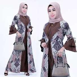Couple baju gamis murah high quality
