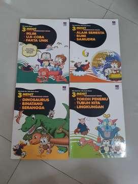 Buku 3 Menit Belajar Pengetahuan Umum