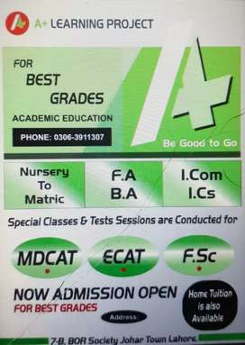 Students  from class 1 to 10th fsc entry test B.A english
