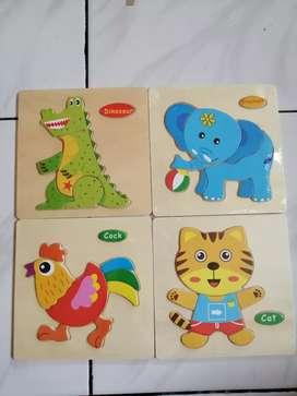 puzzle kayu anak anak