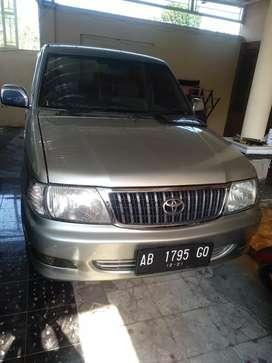 Kijang lgx efi bensin manual AB 1.8 cc 2003