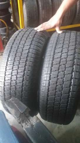 Tyre size 265 70 R15 (Set of 2 pieces)