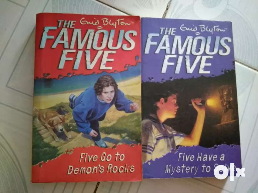 The famous five by Enid Blyton 0