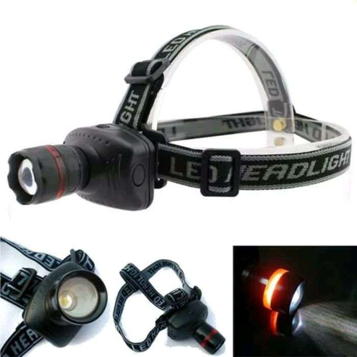 HS Senter Kepala Hight power Zoom Headlamp 0