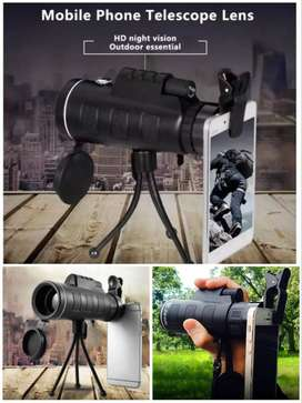 Free Home Delivery- Panda lens 40x60 Hd Monocular Telescopic Lens, COD