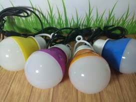 Lampu bohlam 7watt USB Rimgstar. - Barang Baru dan Segel - Non Garansi
