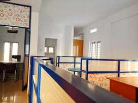 Furnished office room for rent at vennala