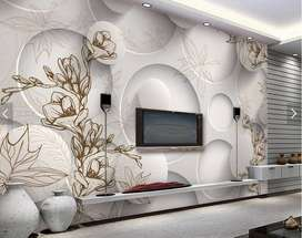 Exotic Customized 3D Wallpapers - Rs. 70 per sqft