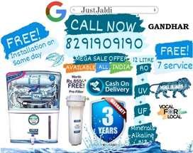 GANDHAR RO Water Purifier Water Filter Water Tank DTH AC TV.  αℓℓ ηεω