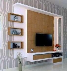 Backdroup TV, lemari TV, Rak TV