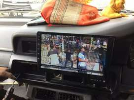 TV mobil 9inch Android TikTok Youtube Maps BONUS. Masang Kijang Super