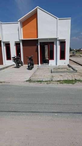 Rumah subsidi di lubuk pakam dekat ke pusat kota pakam
