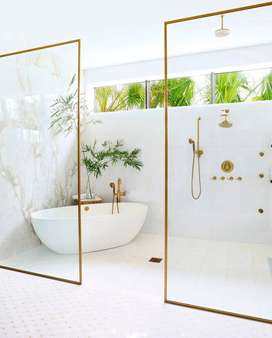 Bathtub Minimalis Operasnion Mewah Terrazzo