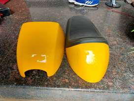 Continental GT Enfield seat cowl shock absorber Shocker mirrors