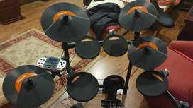 NUX PORTABLE DIGITAL ELECTRONIC DRUM KIT DM4 WITH DRUMSTICK