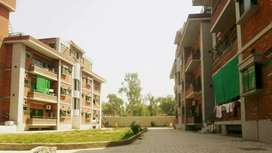 Apartment in a residential area/colony with beautifull veiw .